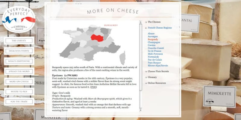 Hats Off to The Cheeses of France Marketing Council