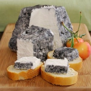 Valencay Frais Cendre  (Photo from Gourmet Food World)
