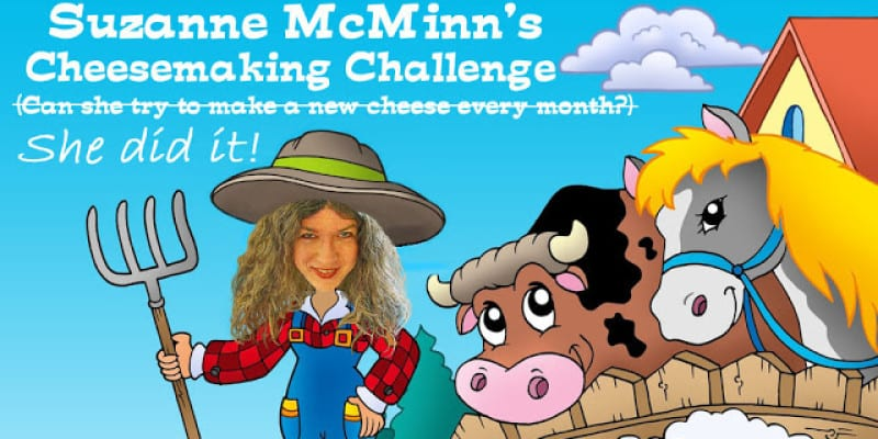 The Year of Cheese with Suzanne McMinn