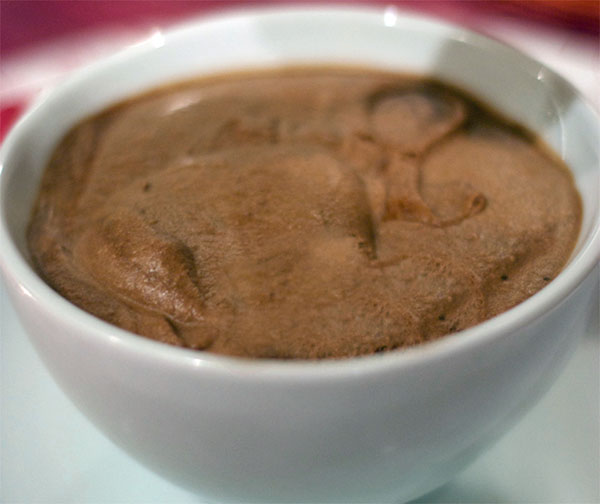 Chocolate Ricotta Mousse by Kate Johnson | A Better Whey