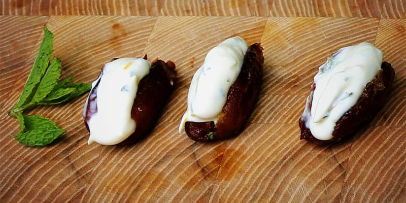 Fromagina Stuffed Dates