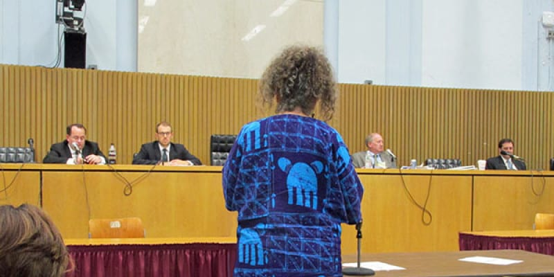 Cheese Queen Testifies at GMO Hearing