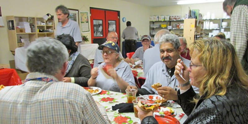 Our Holiday Party with the Veterans