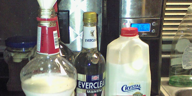 Whipped Cream Vodka by Paul Stovall