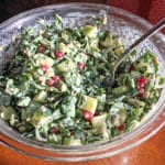 Creamy Kale Caesar Salad by Sara Hunt
