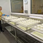 Making Cheese at Hildene in Vermont