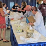 Judging at the New England Regional Cheese Competition – 2017