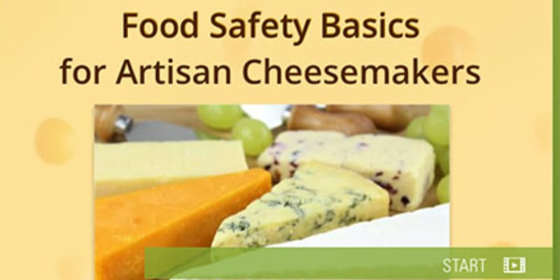 Free Food Safety Course for Cheese Makers
