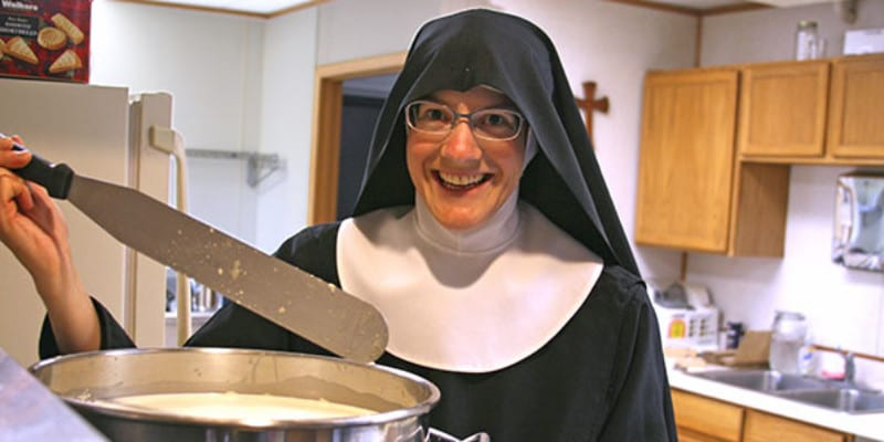 Sister Gertrude Read in 2017